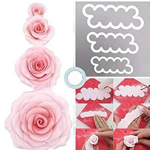 Rose Cutter Plastic 3pc set