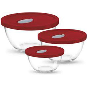 Treo 3pc Mixing Bowl with lid
