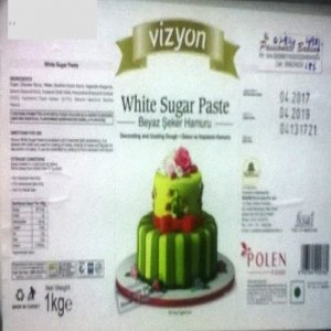 White Fondant or Sugar Paste