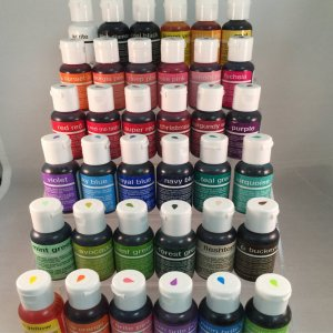 chefmaster gel colours