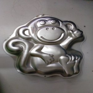 Monkey shaped Cake Pan