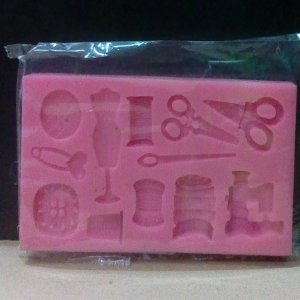 Sewing Theme Silicon Mold