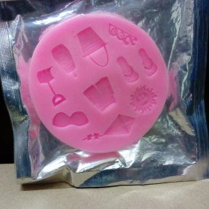 Beach Theme Silicone Mold