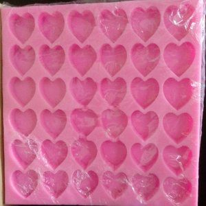 Hearts silicon Mold